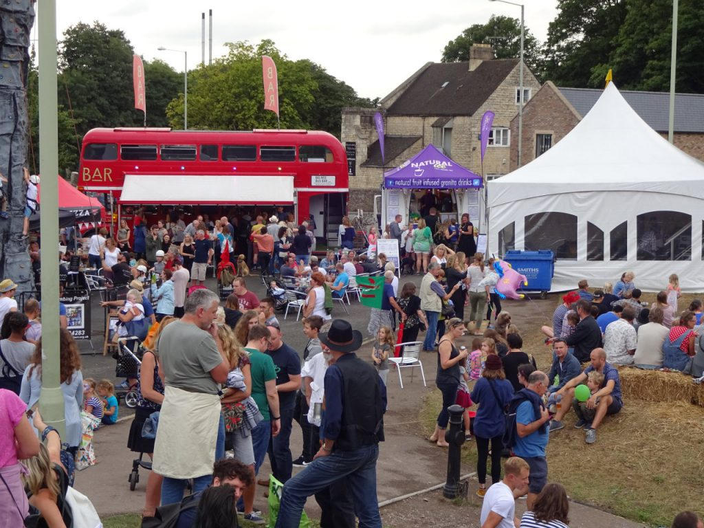 The Canal Stage at Stroud Fringe