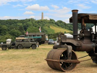 Lister Tyndale steam rally