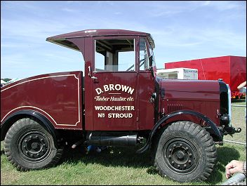 Brows saw mill truck