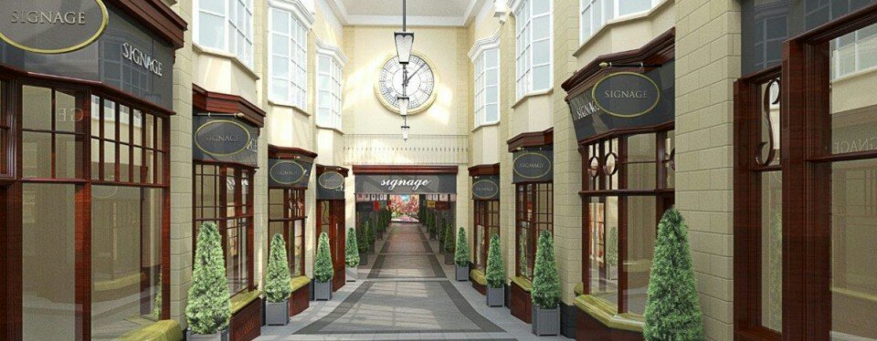 Artists impression of the new merrywalks shopping centre