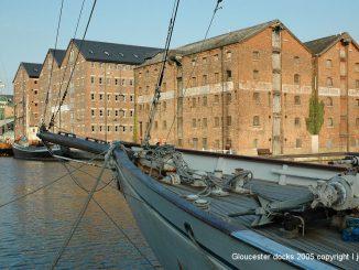 Gloucester Docks in 2005