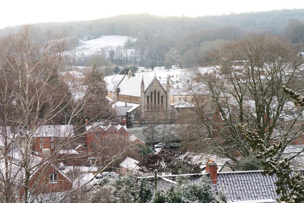 Snow in Nailsworth Jan 2019