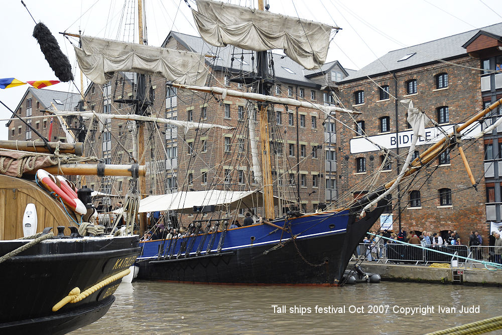 Gloucester Tall Ships Festival 2007