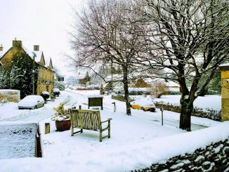 Nympsfield-in-snow