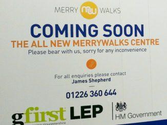 Merrywalks Refurb Hording