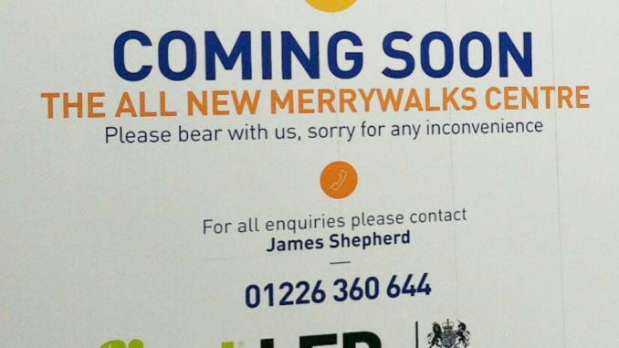 Merrywalks Refurb Hording
