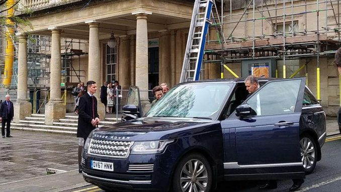 princess Anne visits Stroud