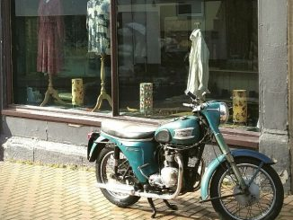 vintage motorcycle in Stroud