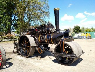 steam road roller