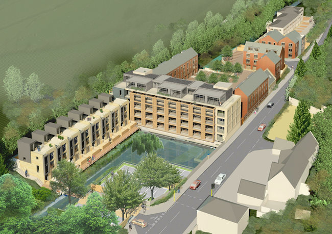 Artists impression of the Rooksmoor Development
