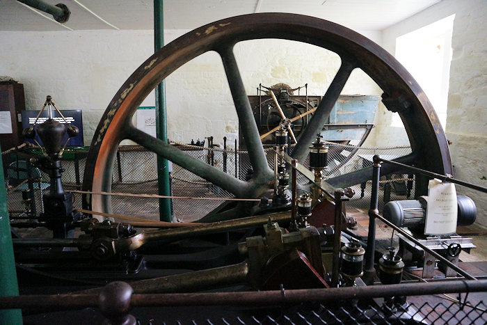 Steam engine at St Mary's Mill, Chalford