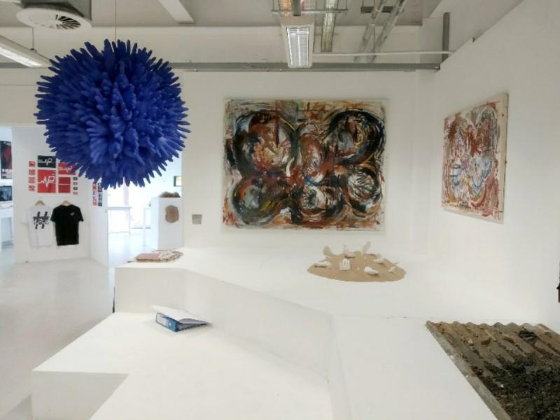 stroud college art exhibition