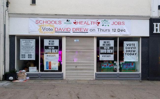 General Election 2019 Stroud Labour Party HQ