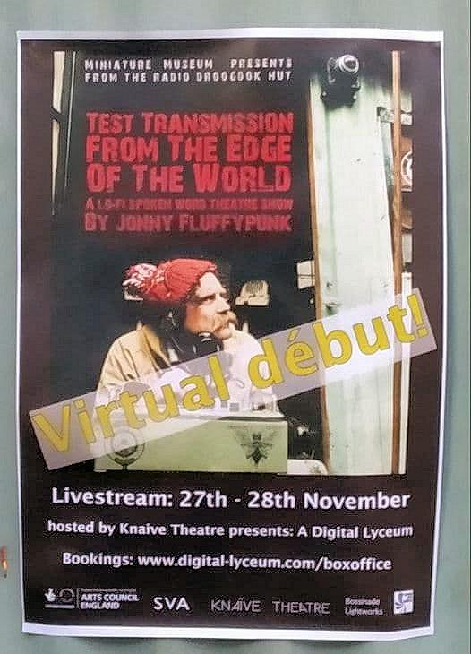 Poster outside Stroud SVA