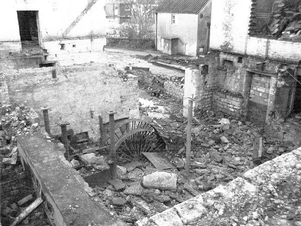 Dunkirk Mill old water wheel