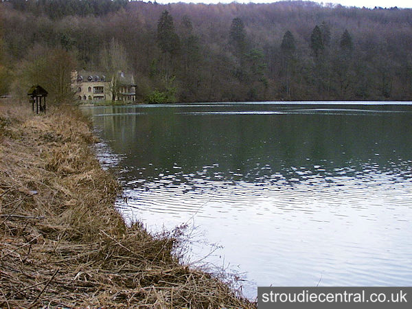 Longfords Mill Lake - Gatcombe Water