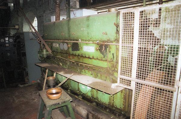 Longfords Mill Allen diesel generator