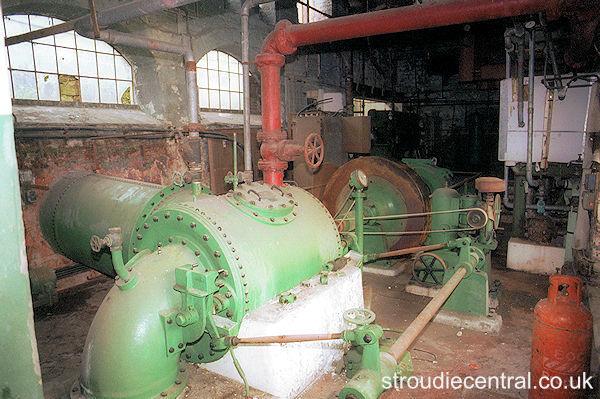Longfords Mill water turbine
