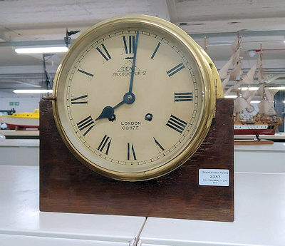 clock at stroud auction rooms