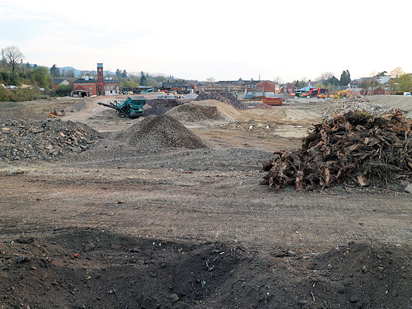 Avocet Trading Estate being redelovped in Stroud