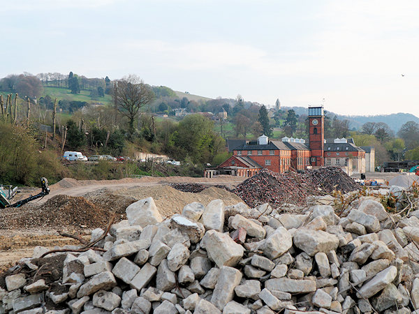 Old Redlers site in Stroud being redeveloped