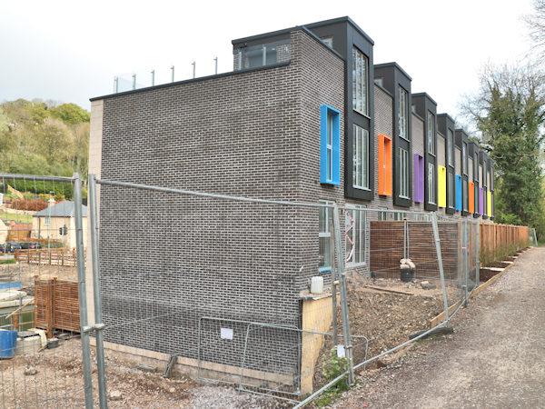 The Millpond building at Rooksmoor Mills near Stroud