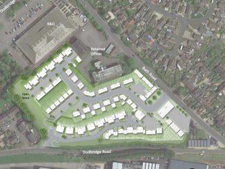 proposed daniels estate development in Stroud