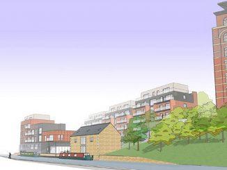 The Wallbridge Development in Stroud